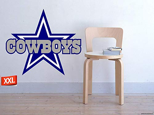 PillowFigtArt Full Color Dallas Cowboys Decal, Full Color Dallas Cowboys Sticker, Full Color Dallas Cowboys Wall Decal,Dallas Cowboys Logo Decal, NFL Logo Decal, Dallas Cowboys pf31 (22