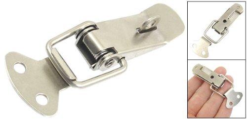 Dessinez Bo/îte /à outils Bo/îtes de cas en acier inoxydable Basculer Loquet ton argent