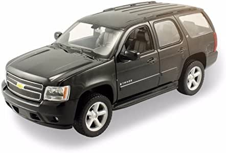 Welly 2008 Chevrolet Tahoe SUV 1/24 Diecast Model Car Black