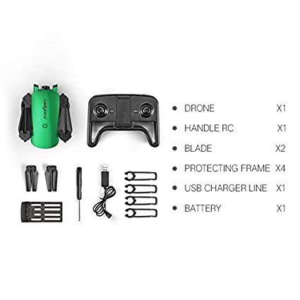 HoganeyVan R8 Doble cámara Drone Plegable Profesional HD 4K Antena ...