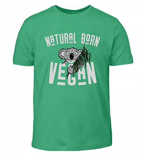 Hochwertiges Kinder T-Shirt - Natural Born Vegan Koala Geschenk