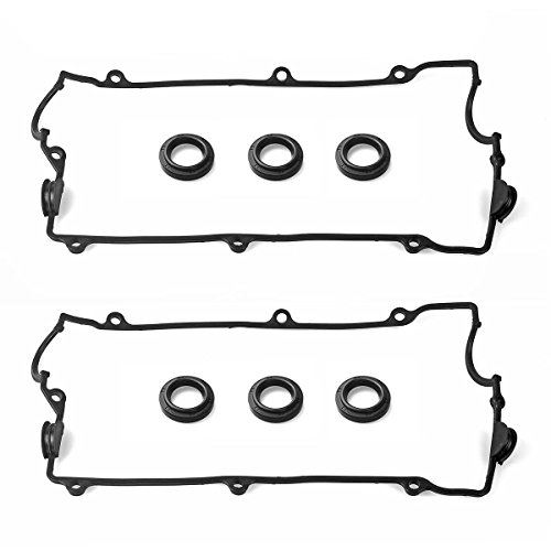 (Vincos Engine Valve Cover Gasket Set Fits For HYUNDAI SANTA FE 2.7L DOHC V6)