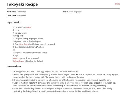 KOLARK Nonstick Guss Aluminiumlegierung Backblech Takoyaki Maker Takoyaki Pfanne 12 L/öcher