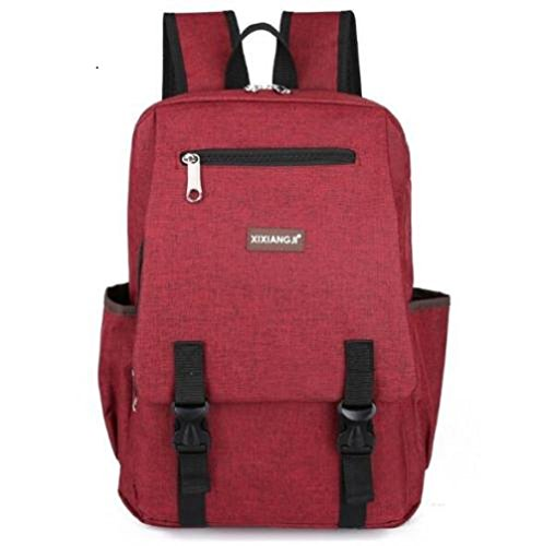 Cute Design 17'' Fashion Men School Bag Backpack Laptop Travel Bag (RED) (Red Sea Mini Lab)