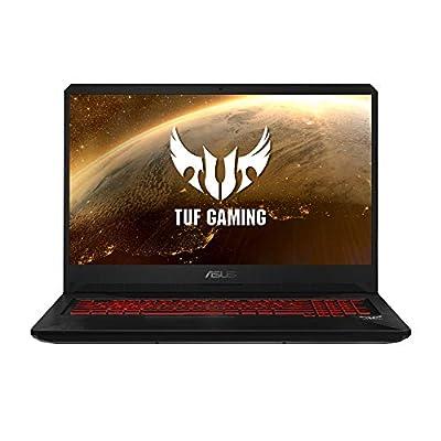 "ASUS TUF Gaming FX705GD-EW106 - Portátil Gaming de 17.3"" FHD (Intel Core i7-8750H, 16 GB RAM, 1 TB HDD + 256GB SSD, NVIDIA GeForce GTX1050 4 GB, Sin Sistema operativo) Negro - Teclado QWERTY Español 16"