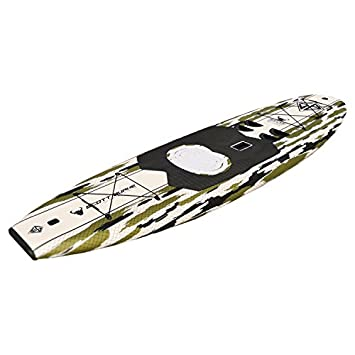 Burke 10.5 ft. Stand up Paddle-Kayak Board Package