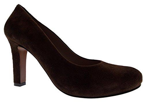 Article D5058 Cour chaussure classique brun plateau en daim