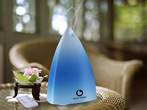 KOKO AROMA Ultrasonic Essential Oil Diffuser Aromatherapy Cool Mist Air