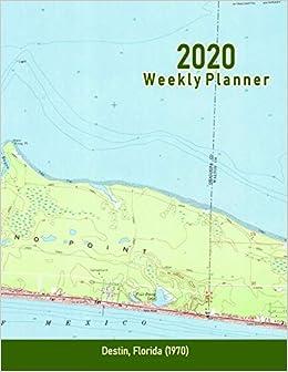 2020 Weekly Planner: Destin, Florida (1970 ... - Amazon.com on sarasota map, usa map, weston florida map, tampa map, panama city beach, palm coast florida map, myrtle beach florida map, st. augustine, key west, okaloosa county, spring hill florida map, miramar beach, vero beach florida map, melbourne florida map, stuart florida map, panama city, fort walton beach, florida panhandle map, pensacola beach, miramar beach florida map, gulf shores, florida state map, st. petersburg florida map, watersound florida map, clearwater florida on a map, daytona beach map, eglin air force base, crestview florida map, perdido key map, florida panhandle, miami florida map,