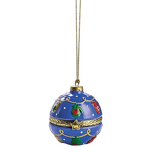 Bandwagon Christmas Decoration - Porcelain Surprise Ornaments Box - Mittens