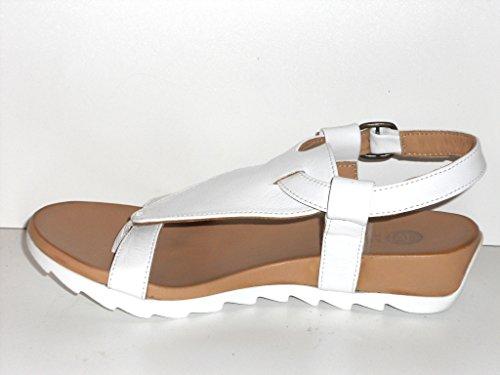 Maca Kitzbühel Zehentrennersandale, Antikleder White, 2213