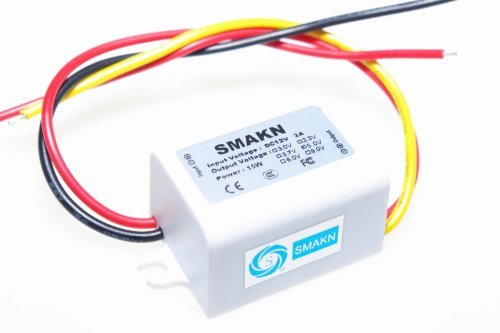 SMAKN Dc/dc Converter 12v Step Down to 5v/3a Power Supply Module