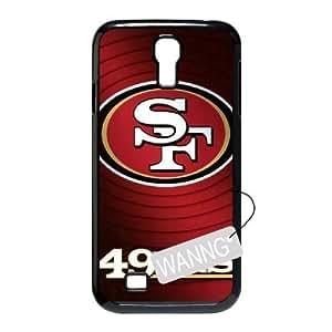 San Francisco 49er logo Samsung Galaxy S4 I9500 Cover Case, San Francisco 49er logo Custom Case for Samsung Galaxy S4 I9500 at WANNG