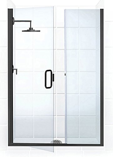 Coastal Shower Doors Illusion Series Frameless Shower Door u0026 Inline Panel with C-Pull Handle  sc 1 st  Amazon.com & Coastal Shower Doors Illusion Series Frameless Shower Door u0026 Inline ...