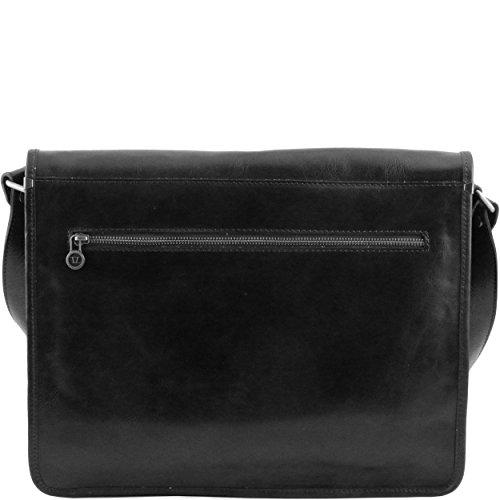 Tuscany Leather - Sac porté épaule cuir - Miel