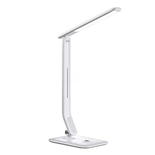 LUUDE Lámpara de Escritorio LED, lámparas de Mesa Que cuidan el ...