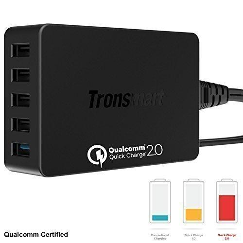 motorola quick charger. tronsmart® 54w 5 ports turbo usb quick desktop charger: amazon.in: electronics motorola charger