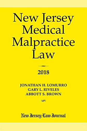 New Jersey Medical Malpractice Law 2018