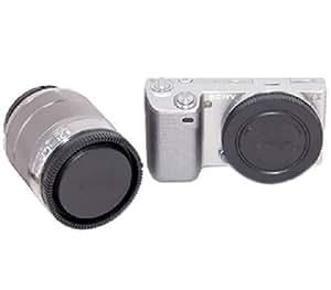 ARBUYSHOP JJC L-R9 tapa posterior del objetivo y de la cámara Tapa del cuerpo Conjunto de montaje E NEX C3 3 5 7 5 N Envío libre