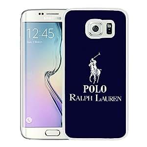 Samsung Galaxy S6 Edge Lauren Ralph Lauren 14 White Screen Cellphone Case Luxurious and Sweet Design