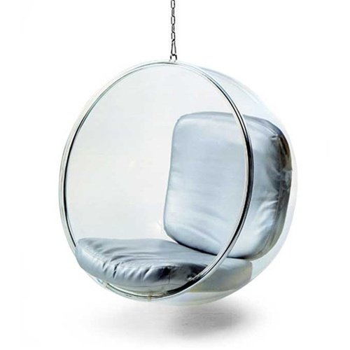Fine Mod Imports Fine Mod Bubble Hanging Chair, White