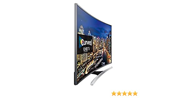 Samsung - TV LED curvo 48 UE48JU7500 UHD 4K, 3D, Wi-Fi y Smart TV: Amazon.es: Electrónica