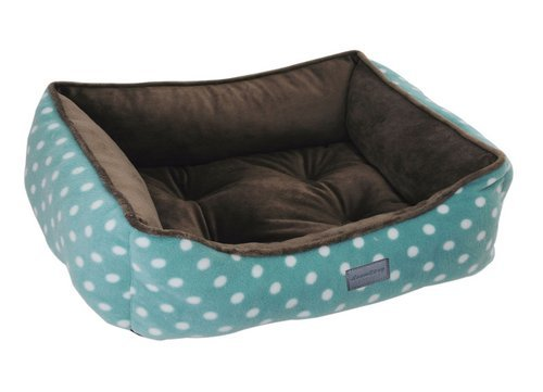 Casual Dog Couch (EZ Living Home Polka Dots Couch Bed, Medium, Turquoise)