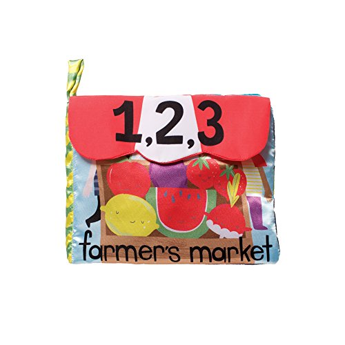 Crinkle Mushroom - Manhattan Toy Farmer's Market Soft Activity Book Baby Toy