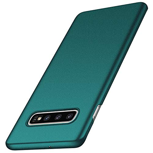 - Galaxy S10 Case, Arkour Minimalist Ultra Thin Slim Fit Hard Plastic Cover Case with Non Sip Matte Grip Surface Phone Case for Samsung Galaxy S10 (Gravel Green)