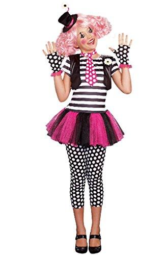[8eighteen Adorable Clown Clownin' Around Outfit Child Costume] (Clownin Around Girls Costumes)