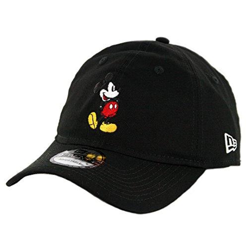 New Era 9Twenty Canvas Mickey Mouse Strapback Hat Men's Women's Disney Cap (New Era Canvas Cap)