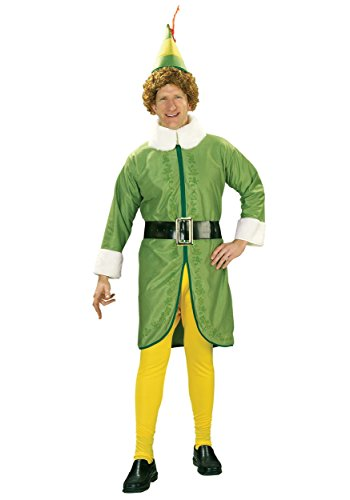 Plus Size Buddy the Elf Costume (Buddy The Elf Womens Costume)