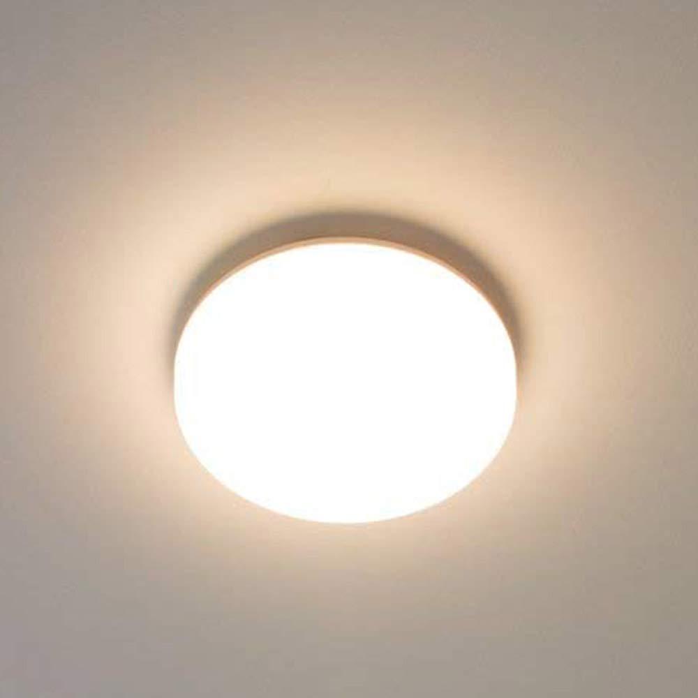 KWODE 15W LED Deckenleuchte, Kaltweiß 6000K Deckenlampe Deckenbeleuchtung, IP44 Rund Badezimmerleuchte Badezimmerlampe Badlampe ideal für Badezimmer Balkon Flur Bad Küche [Energieklasse A++]