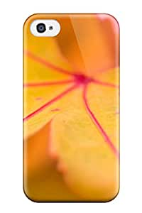 Cheap New Fashion Premium Tpu Case Cover For Iphone 4/4s - Yellow Leaf 7354928K36465975