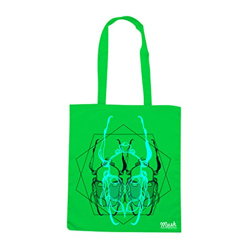 Borsa BEETLES - Verde prato - MUSH by Mush Dress Your Style