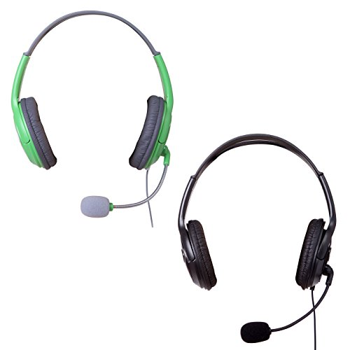 HDE XBOX 360 Headset Headphone Mic Game Chat Live Microphone