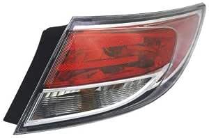 Tail Light For 2014-2015 Mazda 6 Set of 2 Driver and Passenger Side Inner CAPA