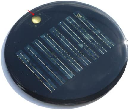 0.16W 4V Round Mini Solar Panel Module Solar System Solar Epoxy Cell Charger DIY