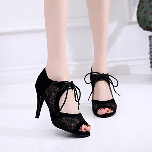 Heel qj7161 Black 8 Minitoo Sala 5 Cm Donna Minitoouk Da zTxqnF6H