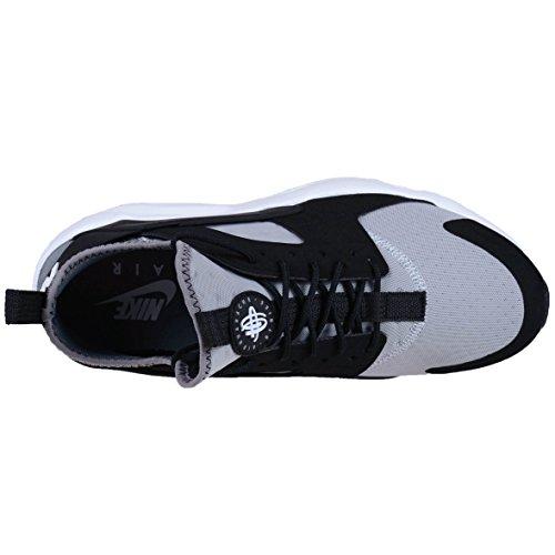 NIKE Herren Huarache Run Ultra Running Sneaker Wolf Grey / Weiß-Schwarz-Cool Grey