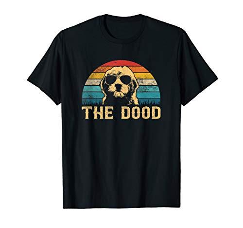 Vintage Goldendoodle The Dood T-Shirt Gift Dad Mom Kids