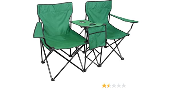 Stupendous Amazon Com Double Camping Chair Sports Outdoors Caraccident5 Cool Chair Designs And Ideas Caraccident5Info