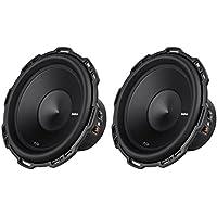 2) ROCKFORD FOSGATE P2D4-12 12 1600 Watt Dual 4-Ohm Car Audio Subwoofers P2D412