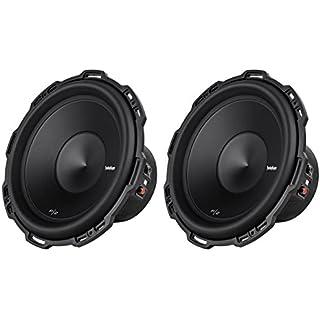 Sale 2) ROCKFORD FOSGATE P2D4-12 12' 1600 Watt Dual 4-Ohm Car Audio Subwoofers P2D412