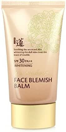 Best Korean BB No Makeup Face Blemish Balm Whitening Cream SPF 30 PA++ 50 Ml