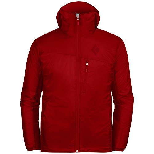 BLACK DIAMOND Men's Access LT Hoodie Deep Torch Red M