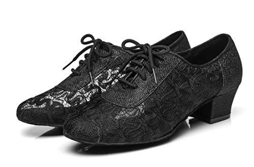 Minitoo Noir Femme de L289 36 Danse 5 Salon Noir MinitooUK EU r0pfr