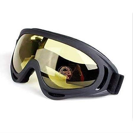 lunettes de ski SUNXIN Anti-poussi/ère lunettes /équitation coupe-vent lunettes de moto