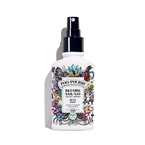 - PooPourri BeforeYouGo Toilet Spray 4 oz Bottle, Deja Poo Scent