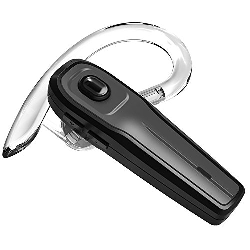 Bluetooth Headset, Wireless Earpiece Bluetooth 4.1 for Cell Phones, In-Ear Piece Hands Free Earbuds Earphone Headphone w/ Mic, Noise Cancelling for Driving, Compatible w/ iPhone Samsung Cellphone